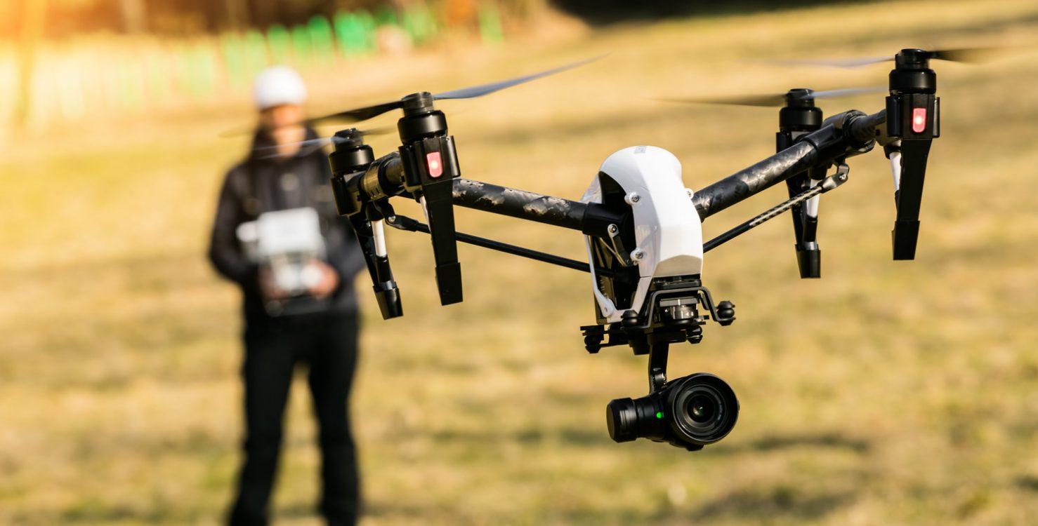 Filmaufnahme mit Drohne