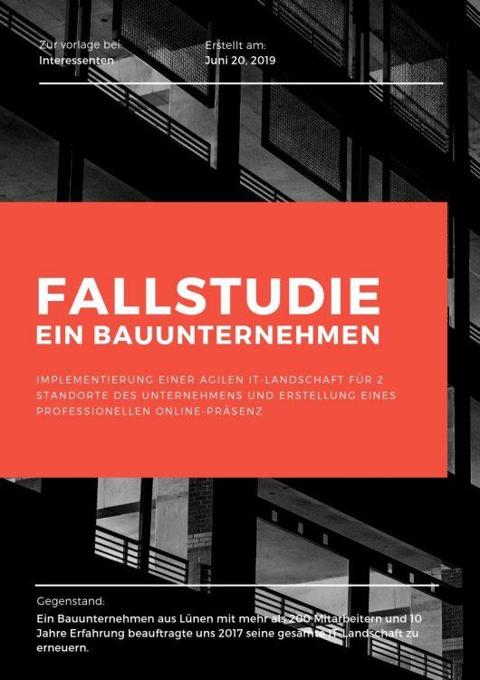 Fallstudie: Ein Bauunternehmen