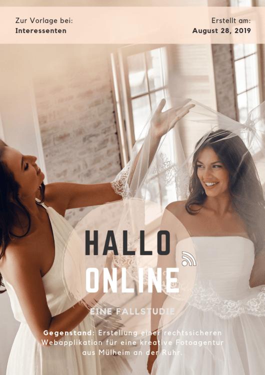 Fallstudie: Hallo online!