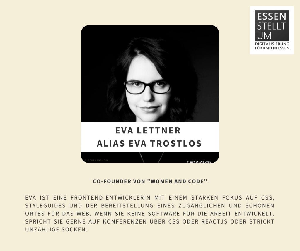 Eva Lettner  Alias Eva Trostlos